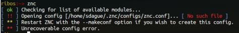 znc fail