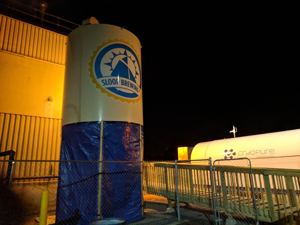 Sloop Factory Entrance